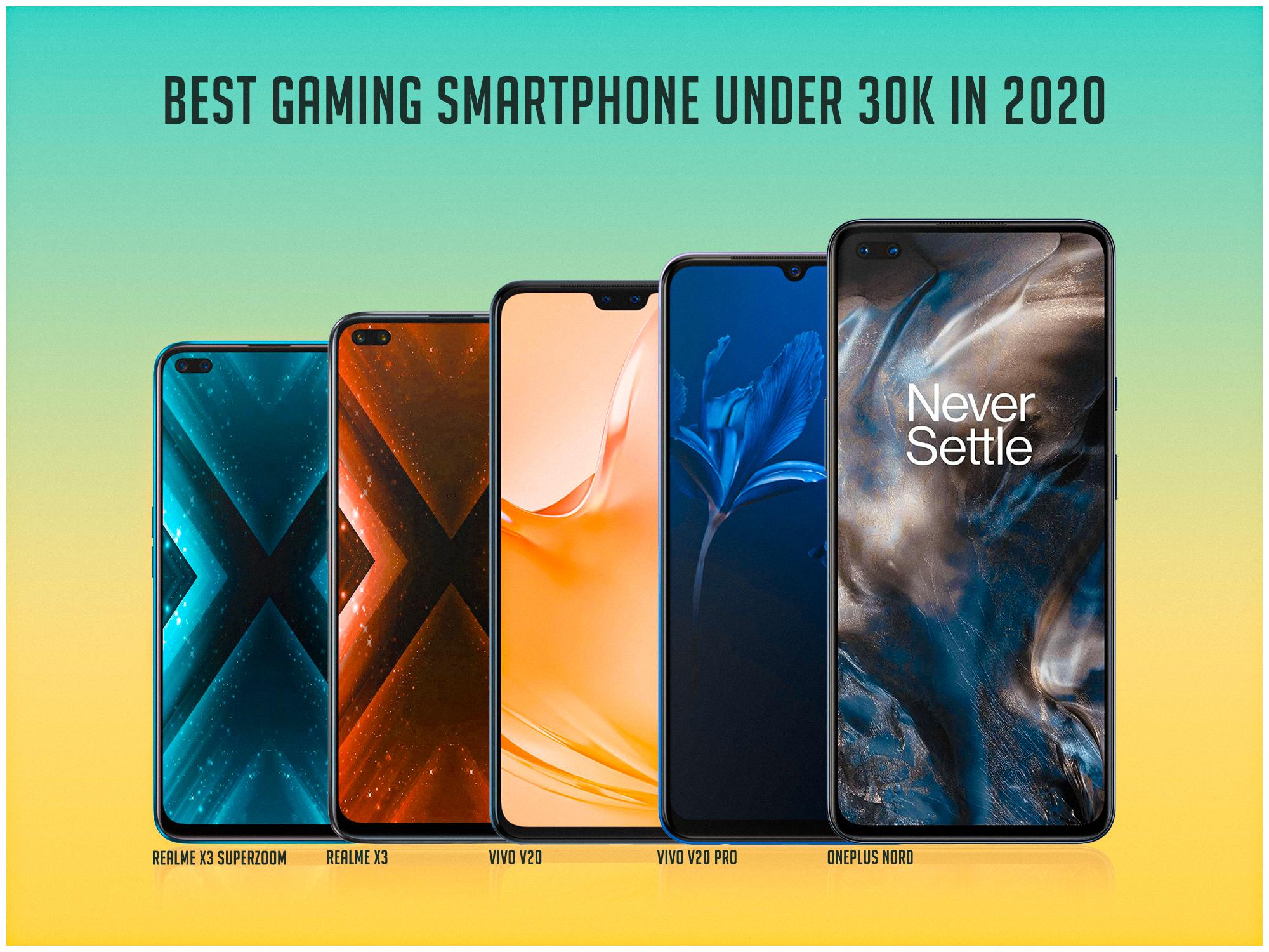 Best gaming smartphone under 30k in 2020