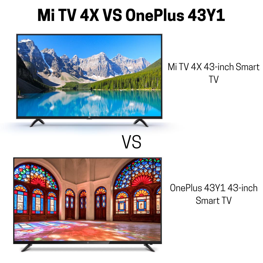 Mi TV 4X vs OnePlus 43Y1