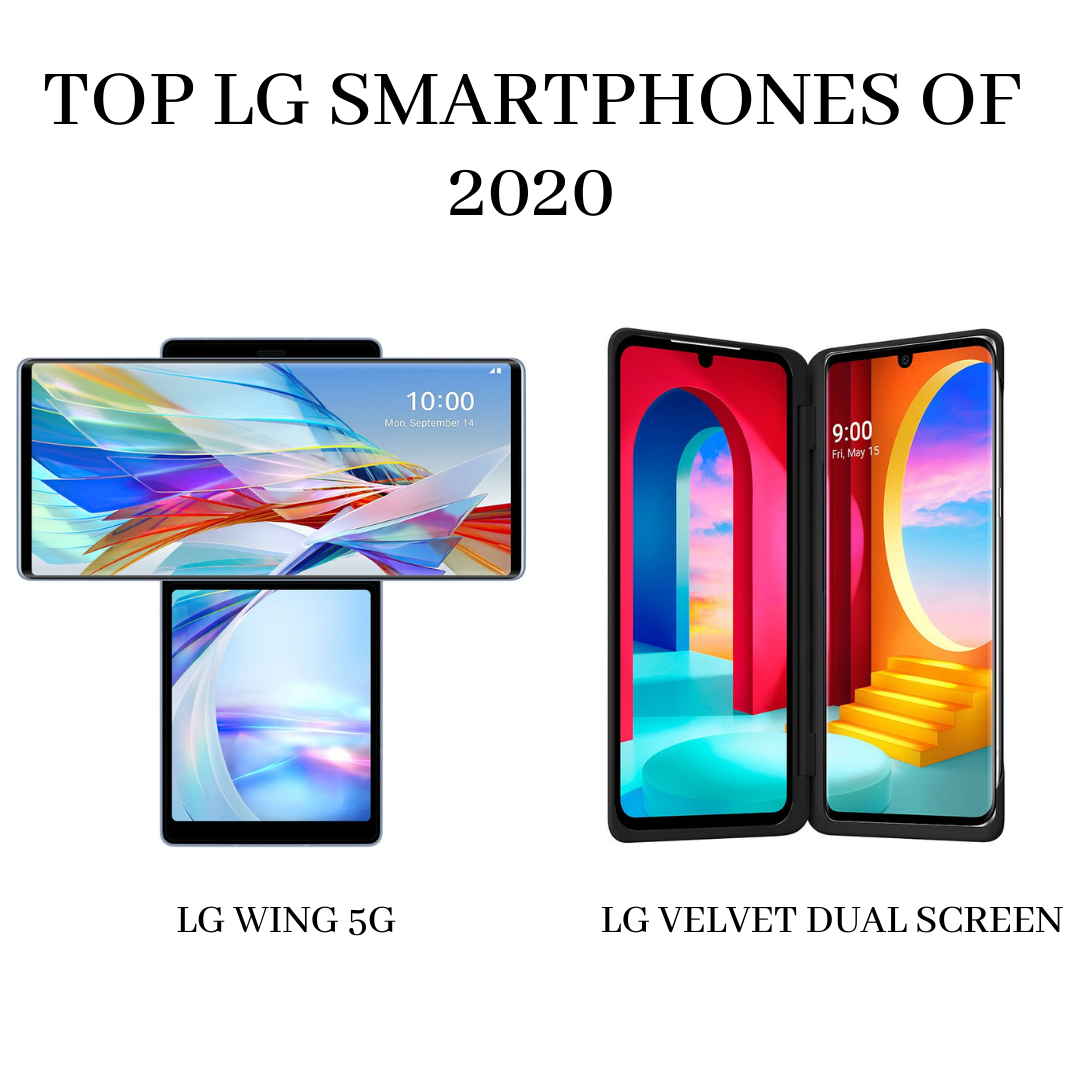 Top LG Smartphones of 2020