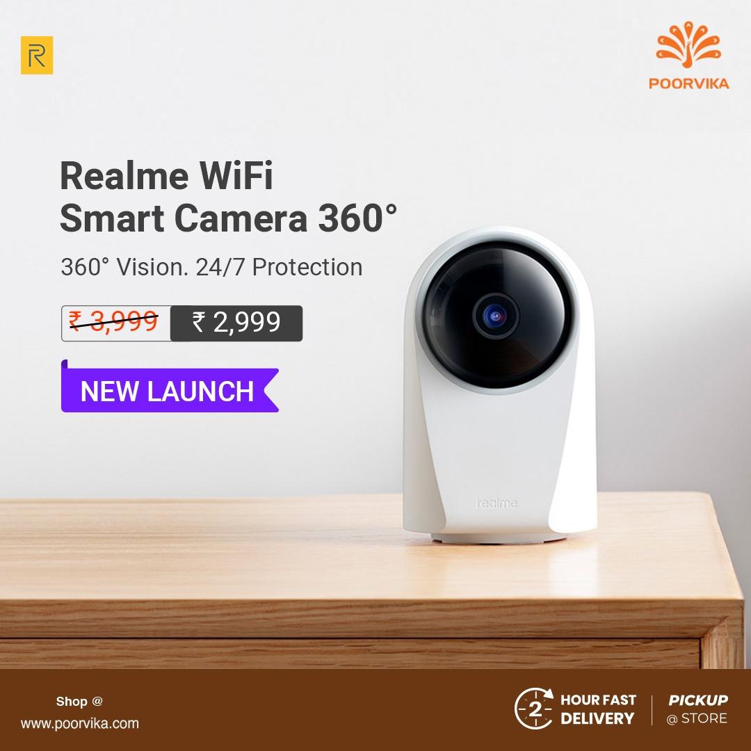 Realme WiFi Smart Camera 360° Full Specifications
