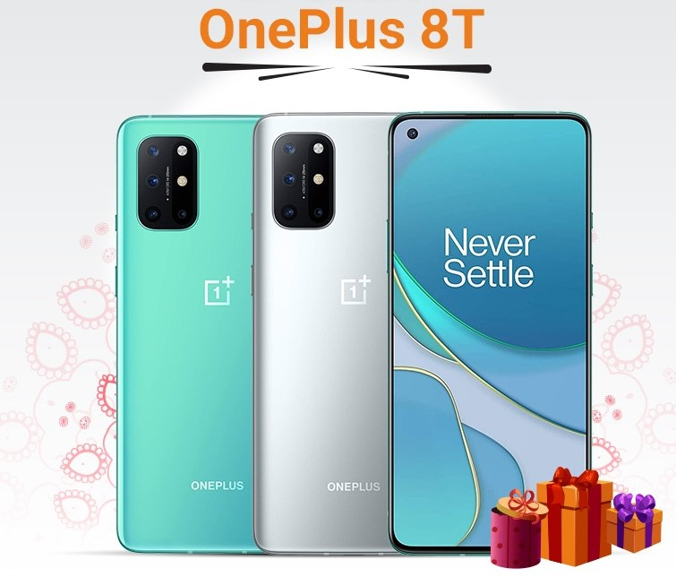 OnePlus 8T - world-class display & color accuracy