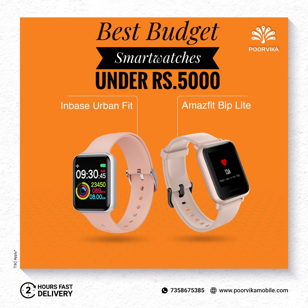 Best-budget-smartwatches-under-rs-5000