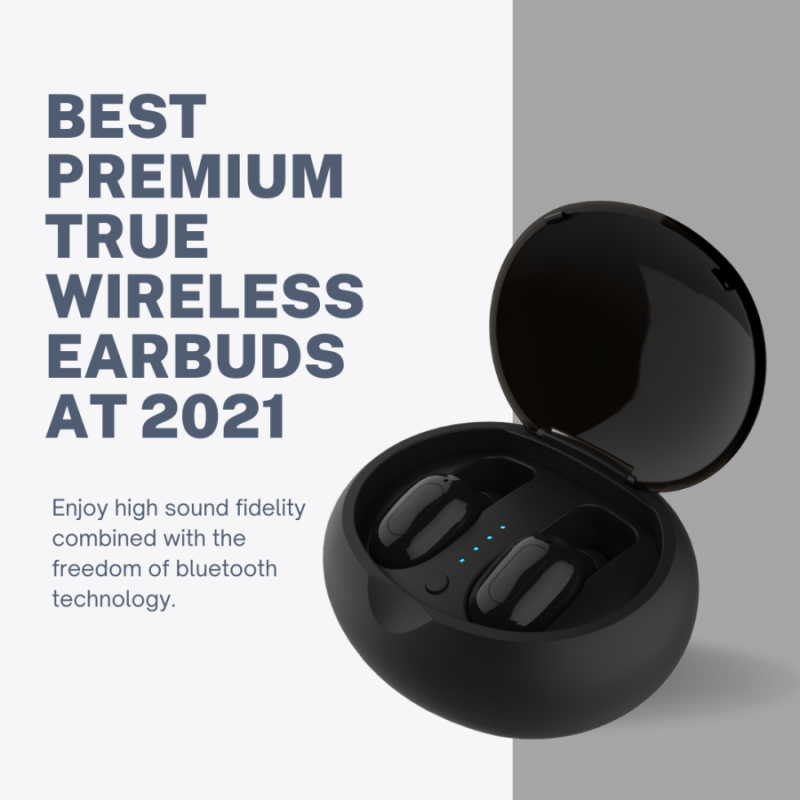 BEST PREMIUM TRUE WIRELESS EARBUDS AT 2021