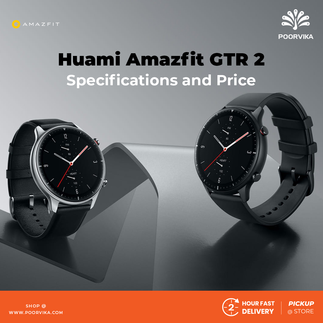 Huami-Amazfit-GTR-2-Smartwatches---Specifications-and-Price