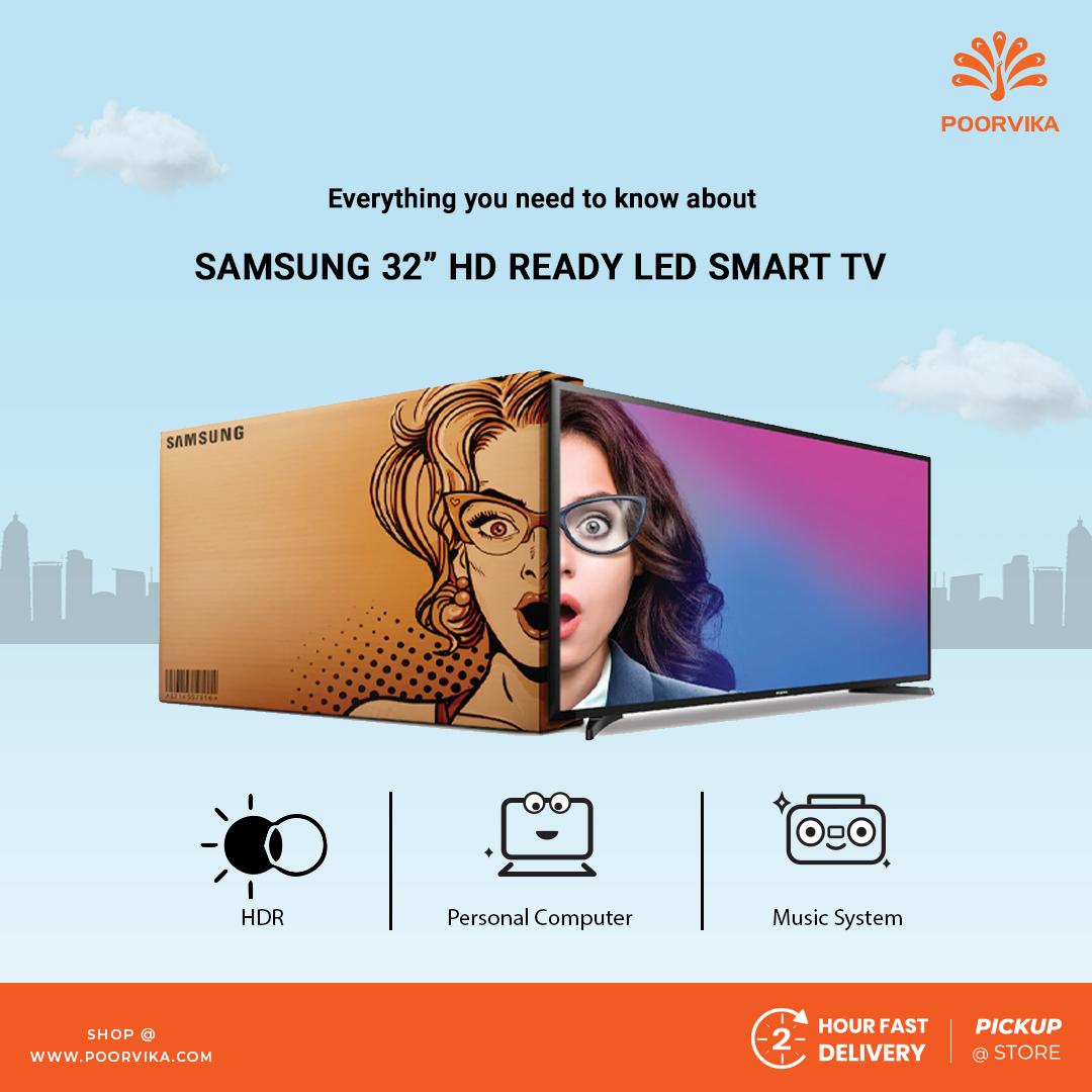 Samsung 80cm HD Ready LED Smart TV