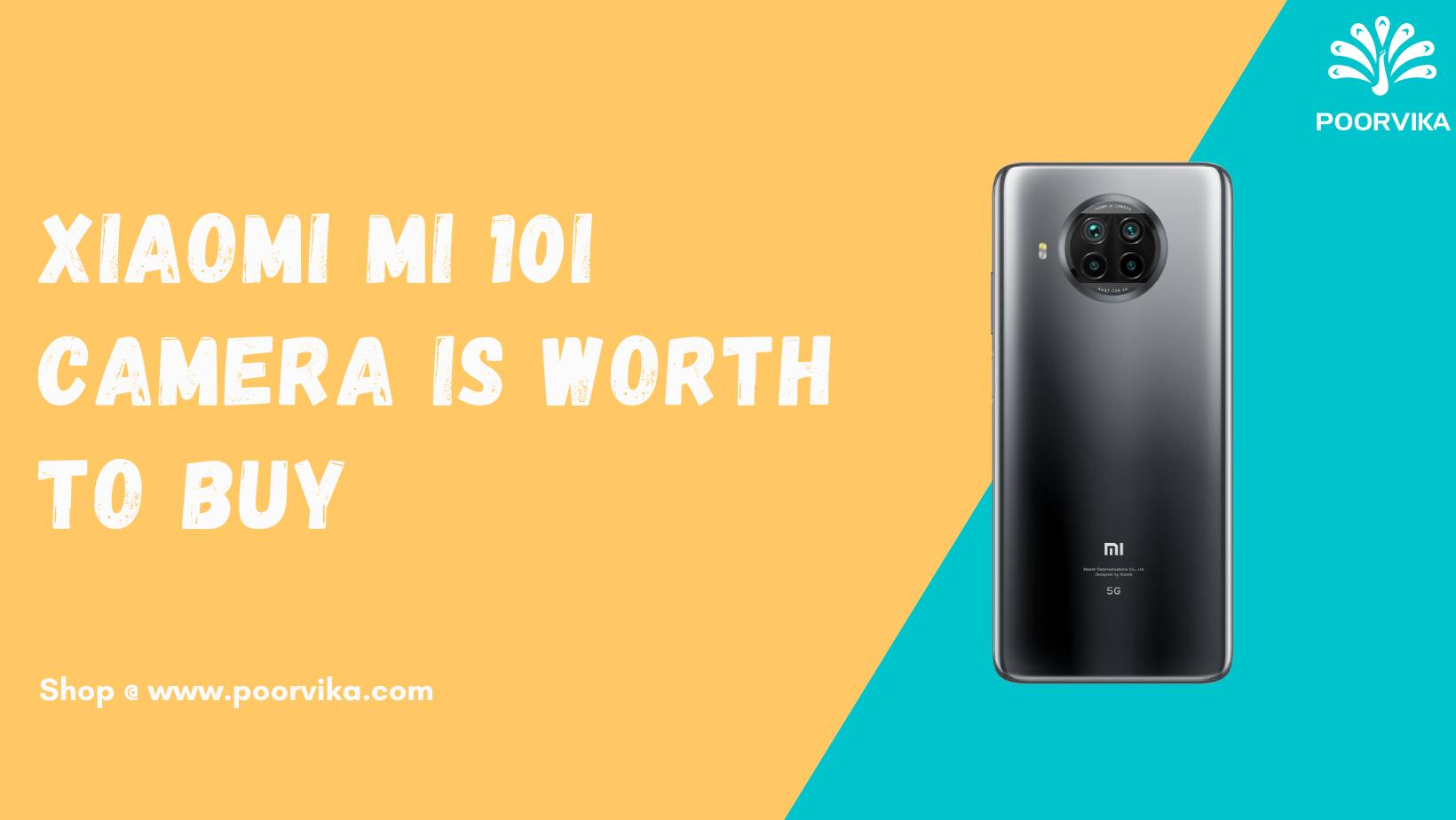 Xiaomi Mi 10i camera is worth to buy