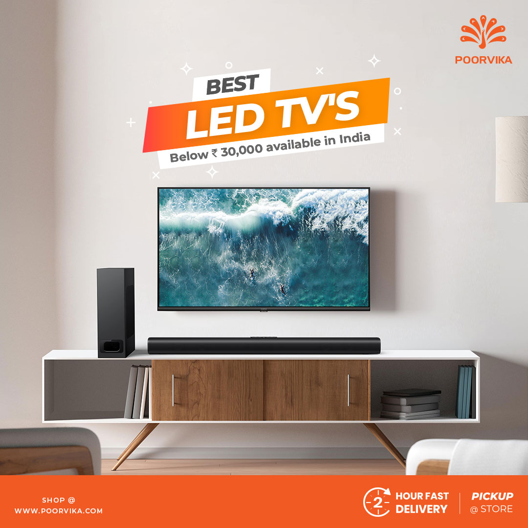 Best-LED-TV's-below-30000-available-in-India