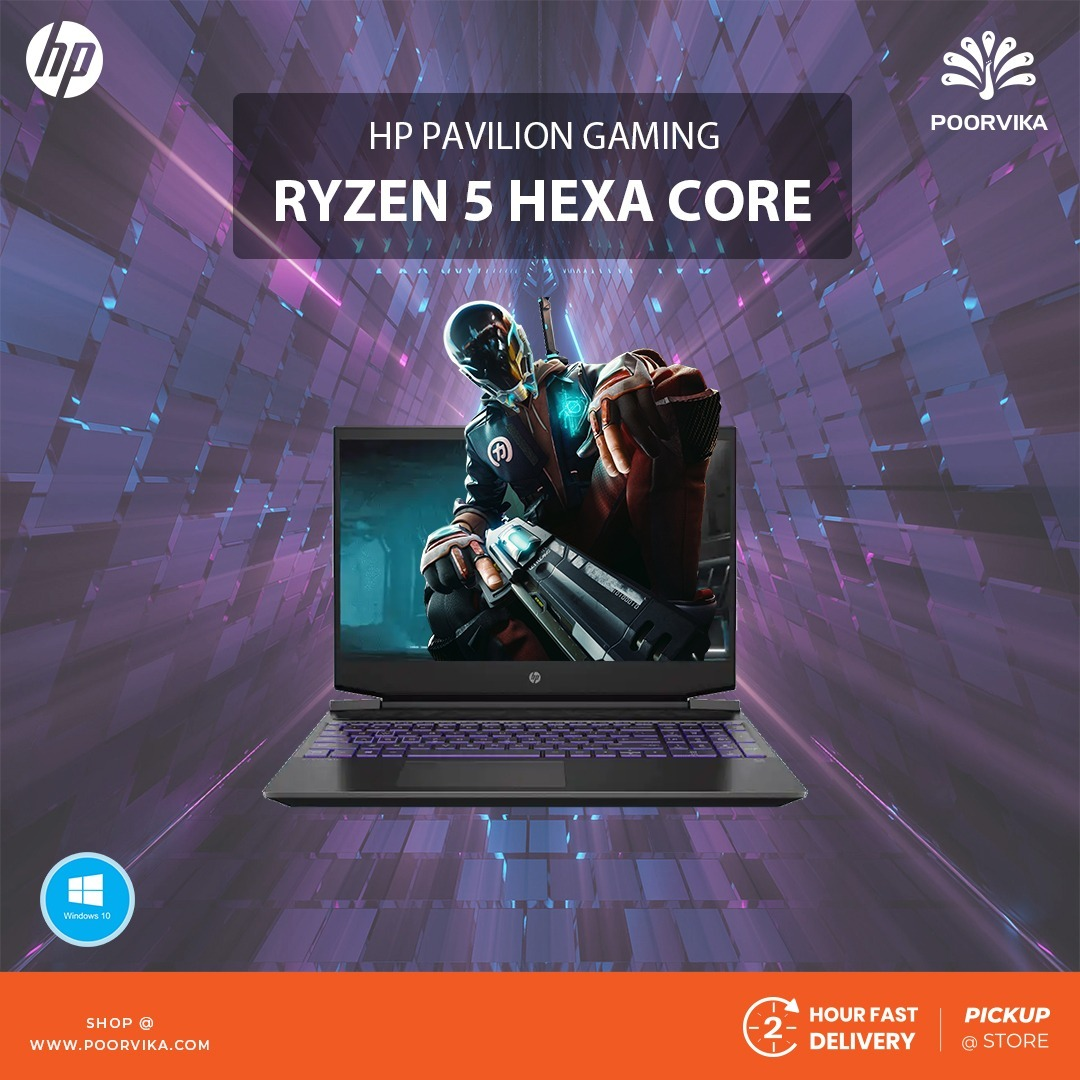 HP-Pavilion-Gaming-Ryzen-5-Hexa-Core-Windows-10-Laptop-15-ec1050AX-Everything-you-need-to-know!