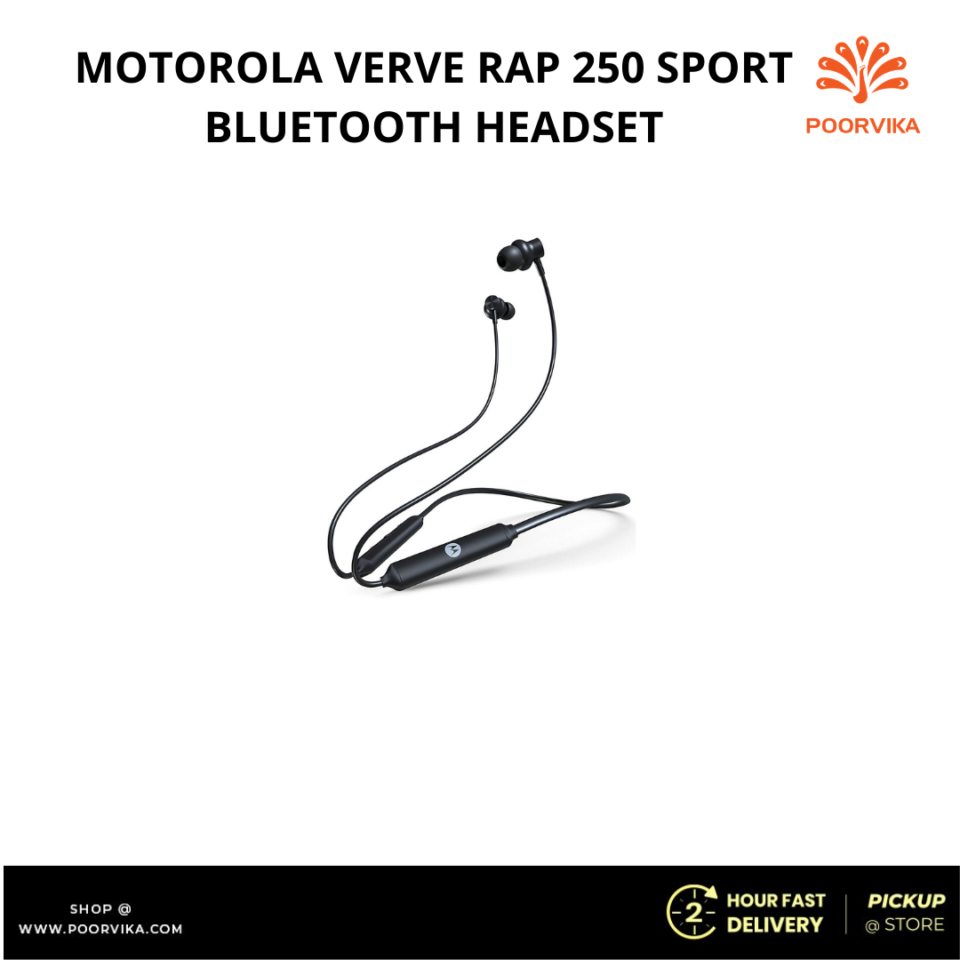 MOTOROLA-VERVE-RAP-250-SPORT-BLUETOOTH-HEADSET