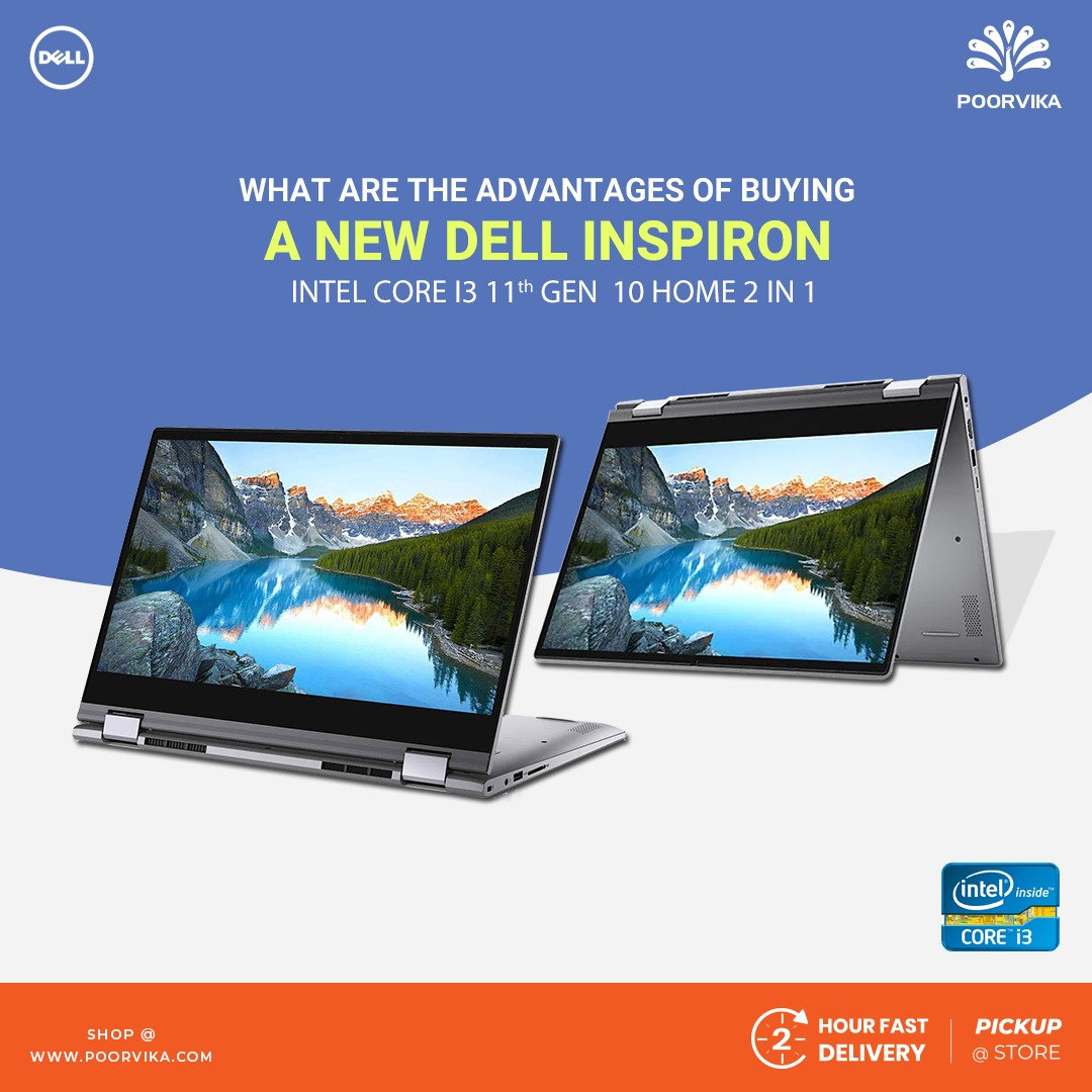 What-are-the-advantages-of-buying-a-Dell-New-Inspiron-14-5406-Intel-Core-i3-11th-Gen-Windows-10-Home-2-in-1-D560366WIN9S Laptop