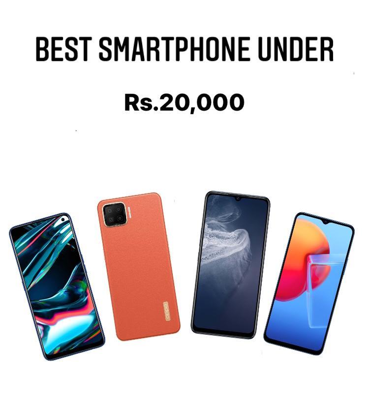Best smartphone under 20,000