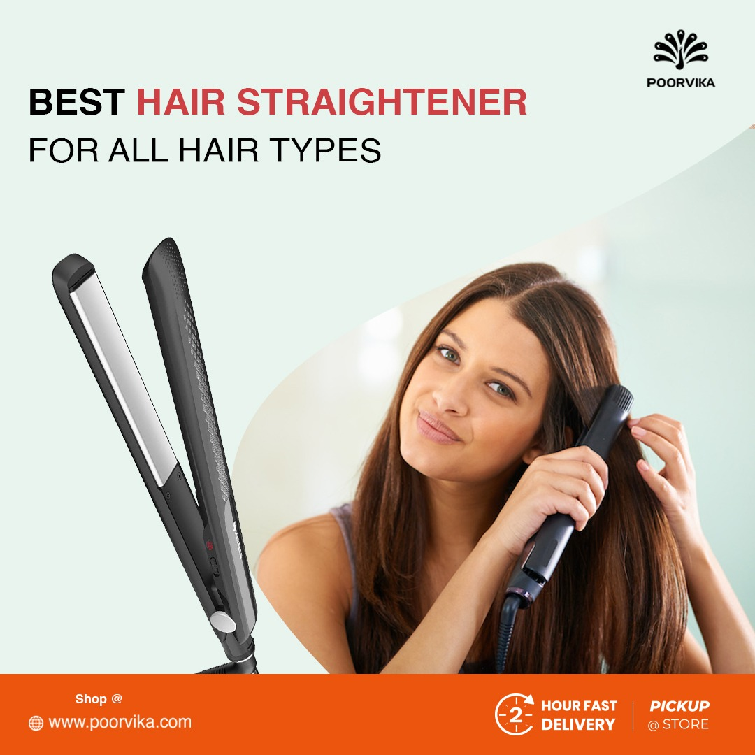 Best Hairstraightener for all types of hair