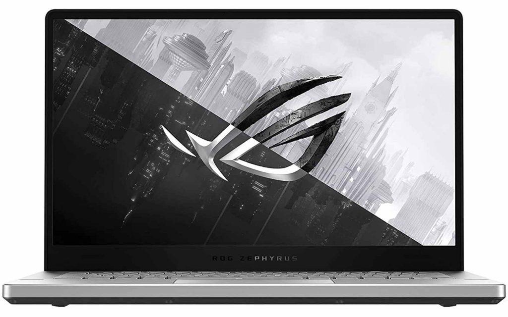 "ASUS ROG Zephyrus G14 Ryzen R7 4800HS Windows 10 Home Laptop GA401IU-HA246TS 16GB RAM 6GB NVIDIA GeForce GTX 1660 Ti 512GB SSD 14 inch Moonlight White 1.70 Kg"""