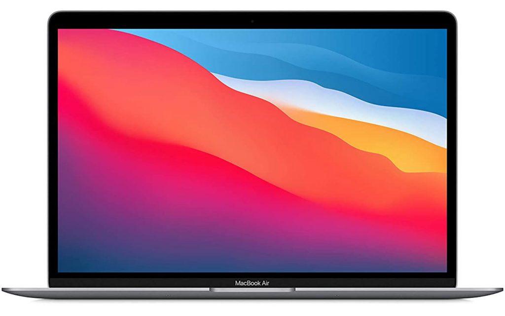 Apple MacBook Air M1 Chip With 8 Core CPU and 7 Core GPU Mac OS Laptop MGN63HN/A 8GB RAM 256GB SSD 13 inch Space Grey 1.29 kg