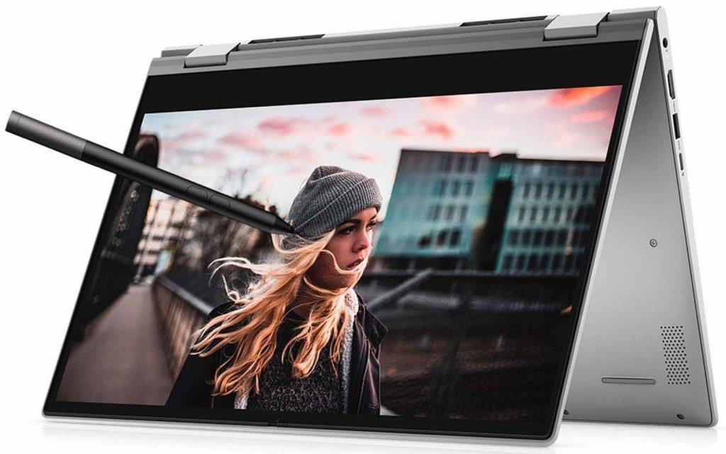 Dell New Inspiron 5406 Intel Core i5 11th Gen Windows 10 Home 2 in 1 Laptop D560368WIN9S 8GB RAM 2GB NVIDIA GeForce 512GB SSD 14 inch Titan Grey 1.53 kg