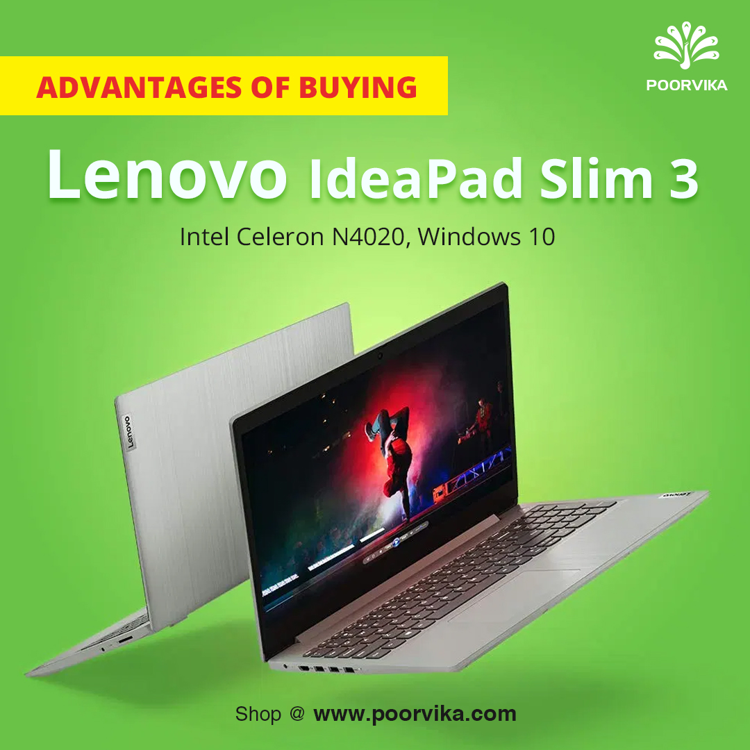 What-are-the-advantages-of-buying-the-Lenovo-IdeaPad-Slim-3-Intel-Celeron-N4020-Windows-10-Home-Laptop-81WQ003LIN