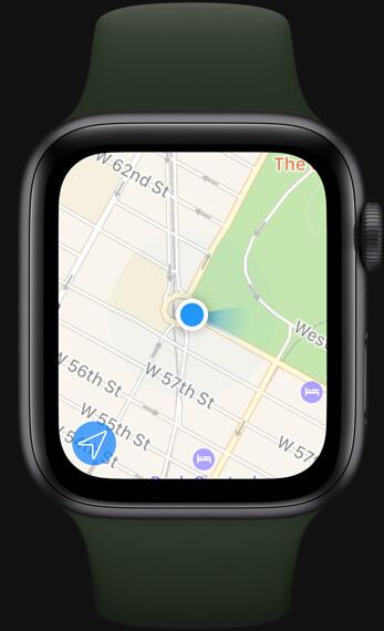 Apple Watch Series 3 Maps Navigation