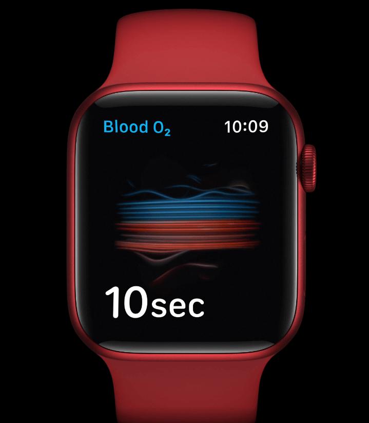 Apple Watch - SpO2 Sensor
