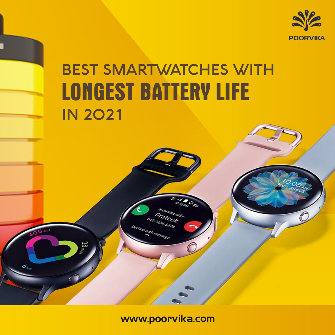 Best-Smartwatches-with-Longest-Battery-Life-in-2021
