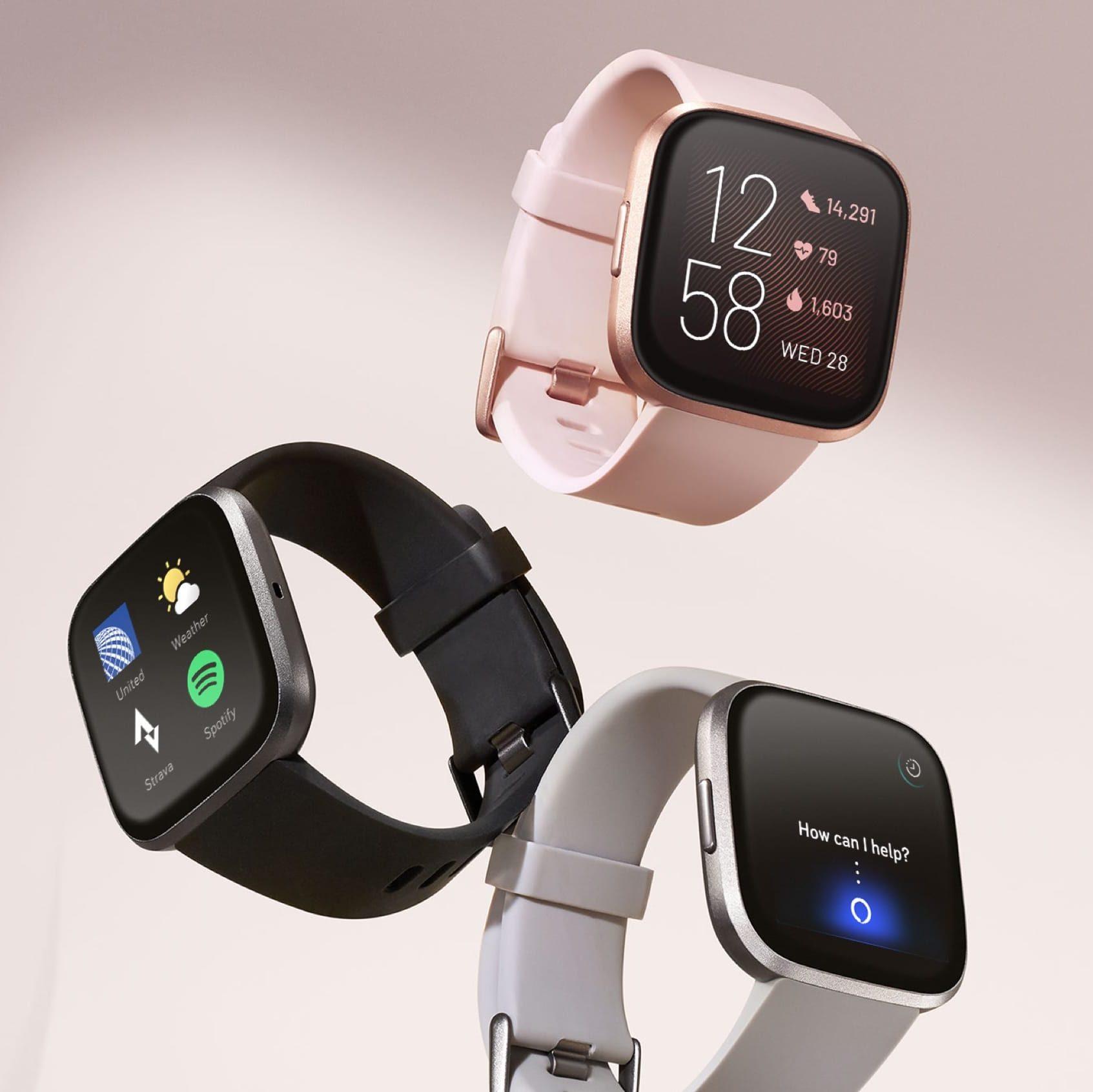 Fitbit-Versa 2 Smartwatch with Alexa Built-in