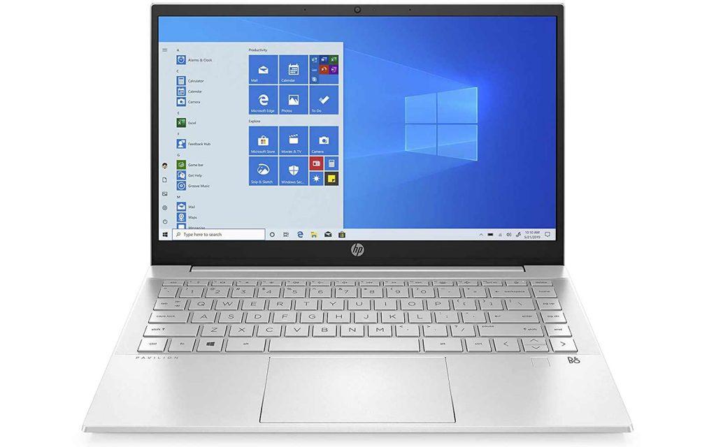 HP Pavilion Intel Core i7 11th Gen Windows 10 Home Laptop With Alexa Built-in 14-dv0058TU 16GB RAM 1TB SSD 14 Inch Natural Silver, 1.41 kg
