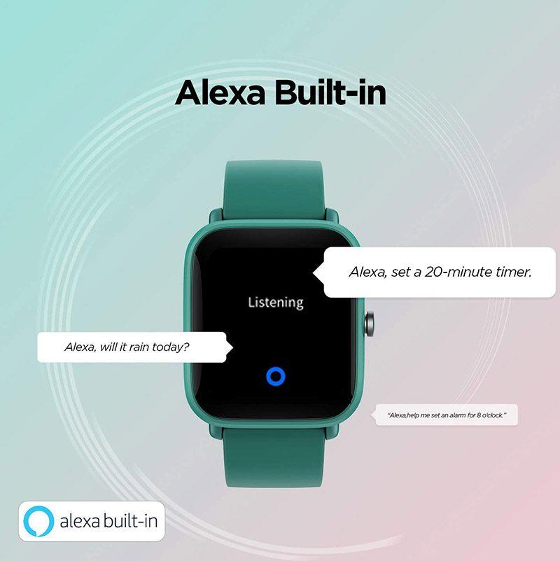 Amazfit Bip U Pro Smartwatch with Alexa Built-in