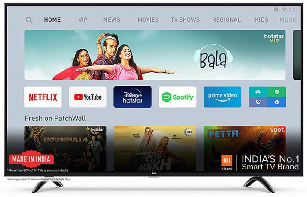 Mi TV 4X 108 cm 43 Inch Ultra HD Android LED TV