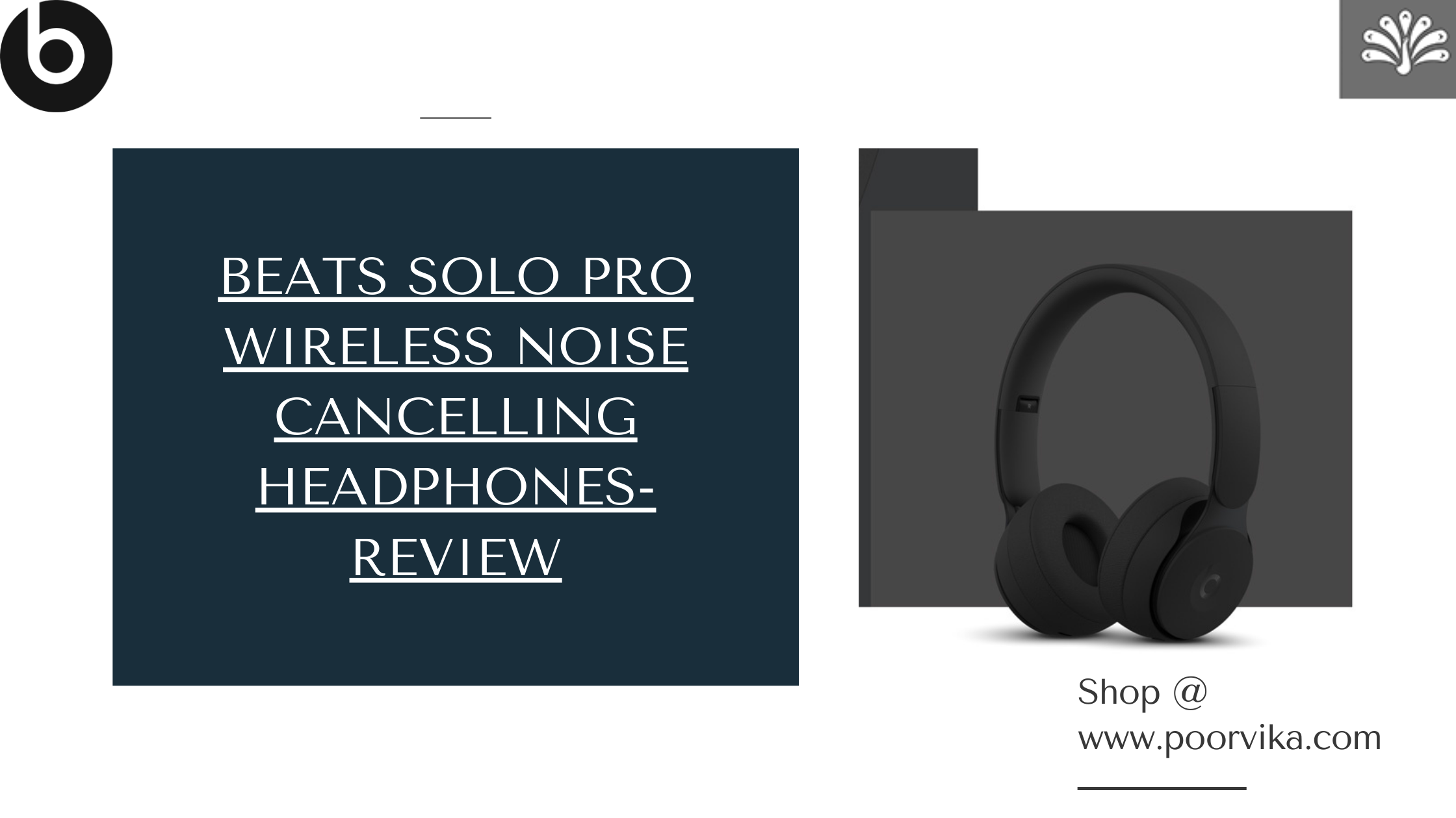 Beats Solo Pro Wireless Noise Cancelling Headphones- Review