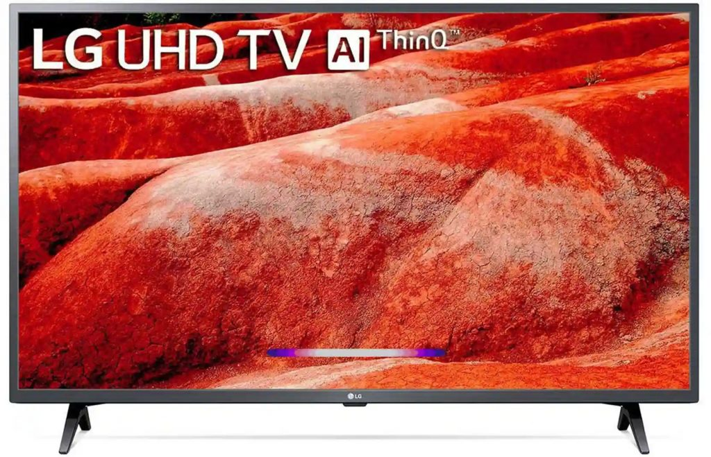 Picture of LG 50 inch 4K Ultra HD Smart LED TV 50UM7700PTA with Built-in Google Assistant  Alexa